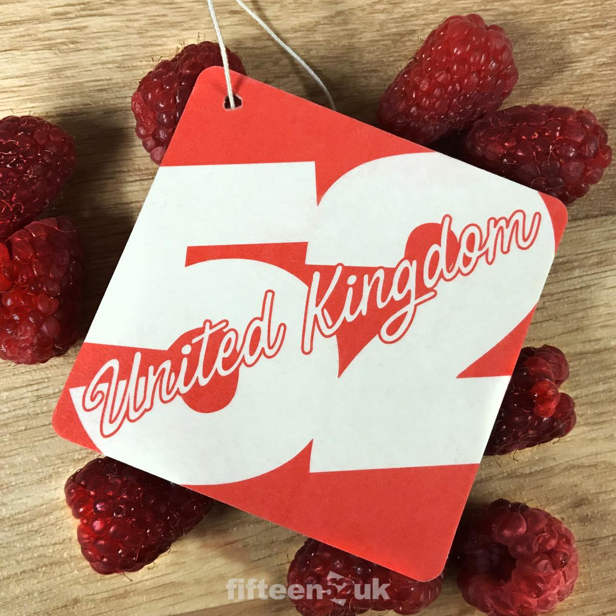 fifteen52UK Raspberry Air Freshener