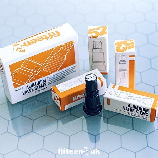 fifteen52 Aluminium Valve Stems & Caps - Pack of 4